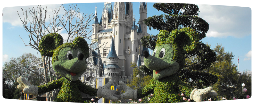 A welcoming view for a family trip set up by our Disney vacation planner