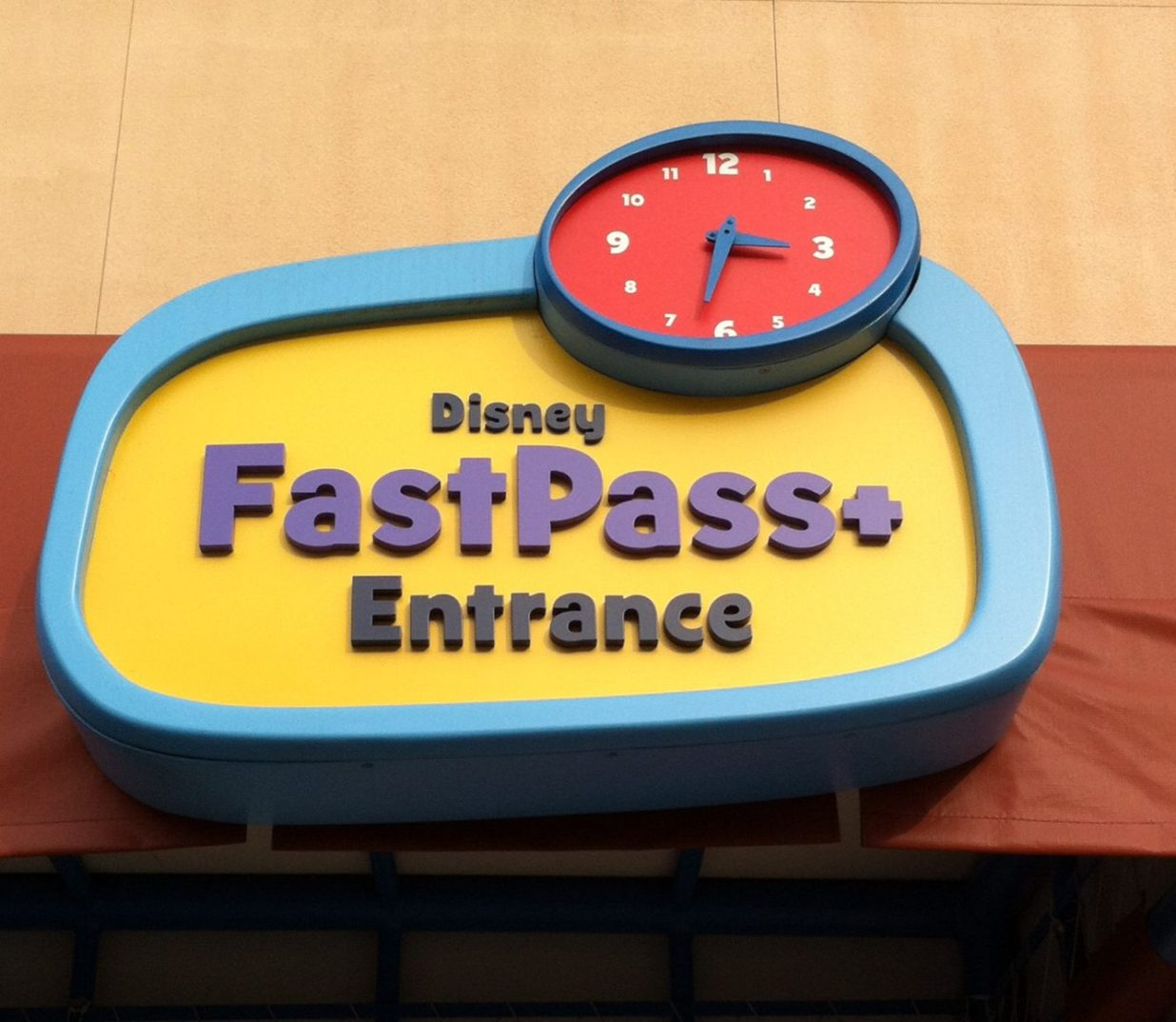 FastPass+ entrance
