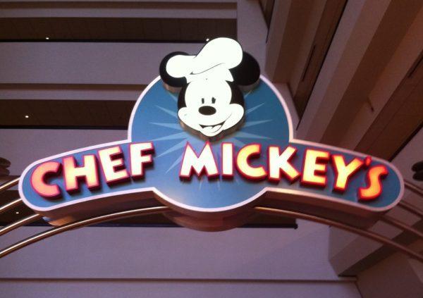 Chef Mickey's