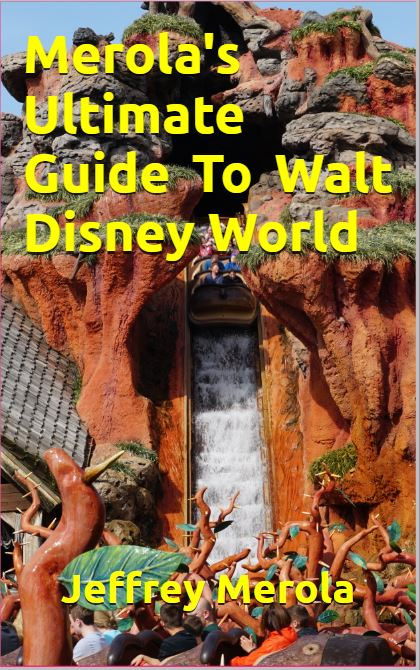 2020 Merolas guide to Disney World book cover